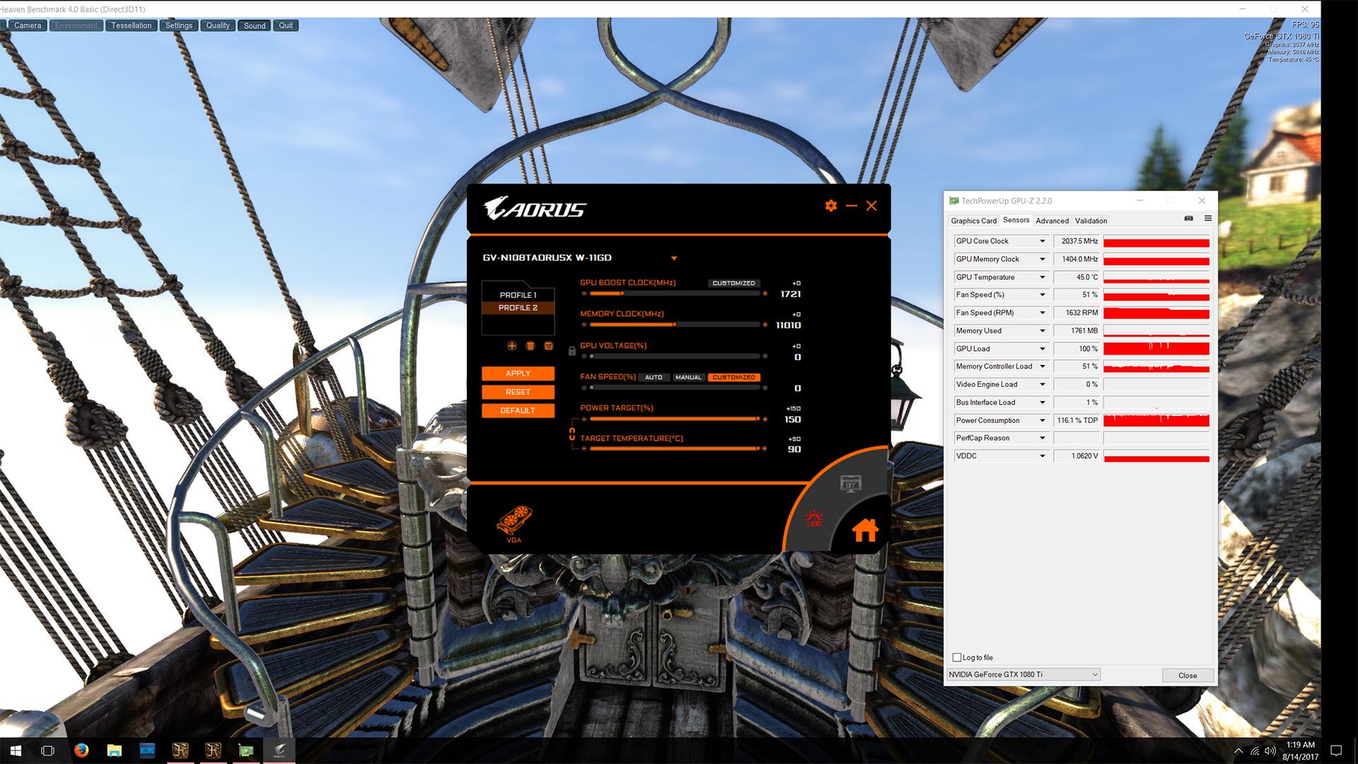 Review: AORUS GTX 1080 Ti Waterforce Xtreme Edition 11G - XG